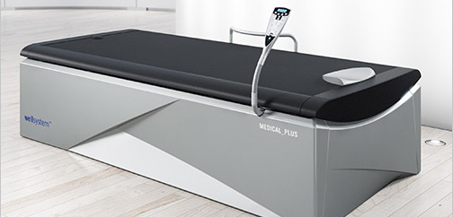 Wellsystem: Mit innovativer Überwasser-Massage fit in 15 Minuten.